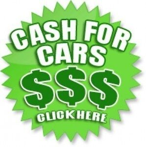 WE BUY YOUR JUNK CARS! CASH ON THE SPOT!