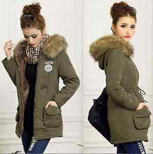 brand new with tags z&I army down jacket padded parka