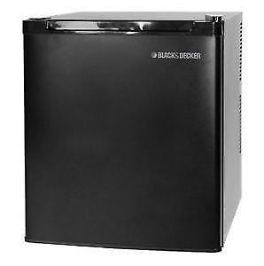 Haier 1.7 cu.ft. Black Bar Fridge