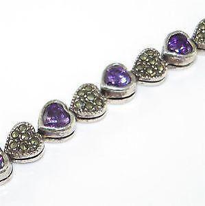 Sterling Marcasite Bracelet