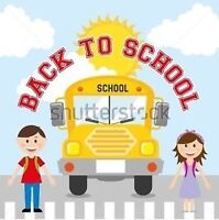Scool Pickup&Drop off&After school care