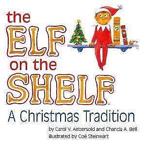 Elf on the shelf set including soft cover book $20