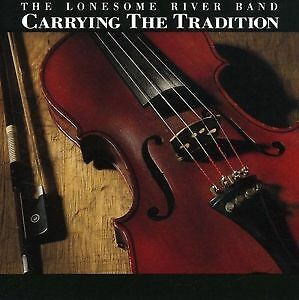 The Lonesome River Band - Carrying the Tradition - 1994, CD Kingston Kingston Area image 1