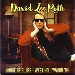 cd - David Lee Roth - House Of Blues - West Hollywood 94