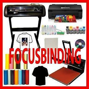 "16x24"" Heat Press,24"" 1000 Metal Plotter Vinyl Cutter,A3 Printer"