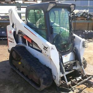2014 Bobcat T590 (Bucket & Forks) with under 1200 hours