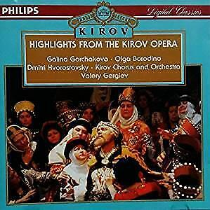 cd - Highlights from the Kirov Opera - Highlights from the..