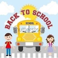 Pickup and dropoff to Williams parkway school