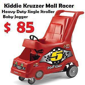 Kiddie Kruzzer Mall Racer Heavy Duty stroller / Cart Baby Jogger / stroller Single / Trailer Bicycle