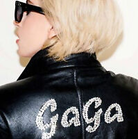 Lady Gaga hard cover book behind-the-scenes photograph