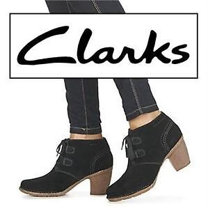 NEW CLARKS LYON BOOTS WOMEN'S