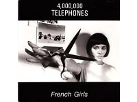RARE 4,000,000 TELEPHONES FRENCH GIRLS original 1986 Vinyl Record MINT CONDITION