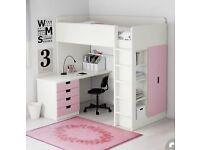 IKEA Stuva bunk bed desk