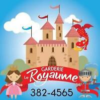 Garderie Le Royaume Ltee - Spaces Available ages 6months-12years