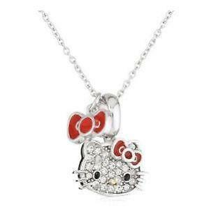 Hello kitty shoes bedding jewelry and more ebay hello kitty necklaces mozeypictures Image collections
