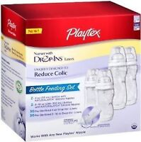 Playtex Baby Drop-Ins Nurser Bottle Feeding / Porte-sacs Playtex