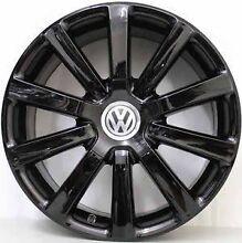 Black genuine Vw wheels Hurstville Hurstville Area Preview