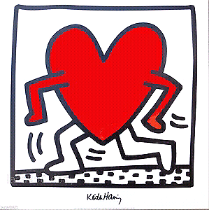Artwork by Keith Haring (American******1990)