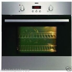 NEW - Zanussi ZOB343X Fan Oven & Timer Stainless Steel - BARGAIN OFFER @ £50 ONLY
