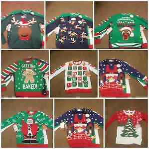 New Ugly Christmas Sweaters Ladies ad Mens