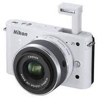 NIKON J1 White For Sale