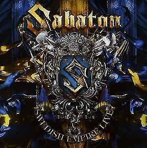 SABATON Swedish Empire Live  CD  NEU & OVP