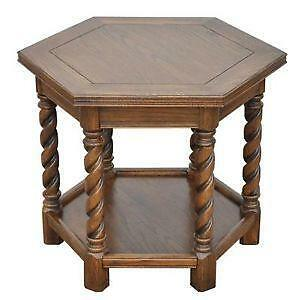 Merveilleux Antique Oak End Tables
