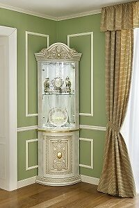 Italian Corner Display Cabinet Ebay