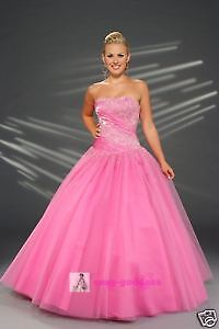 New Prom Ball Formal Gown Bridesmaid Dresses Stock Size 6 8 10 12 14 16