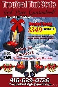 CAR HEATED SEATS $349 INSTALL  CLEARANCE SALE NOW 416-629-0726