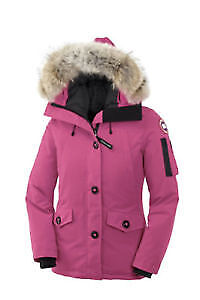 Pink Canada Goose Montebello Jacket For Sale!   (Size XS)
