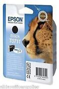 Genuine Epson Ink Cartridges T0711