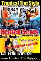 HEATED SEATS $349 INSTALL 50% OFF CHRISTMAS SALE 416-629-0726