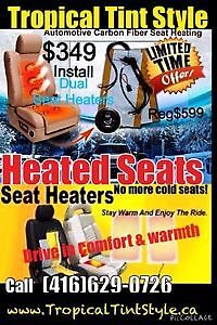 HEATED SEATS $349 INSTALL 50% OFF CLEARANCE SALE 416-629-0726