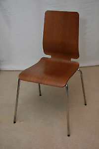 Three Rare Ikea Gilbert Dining Chairs for Sale