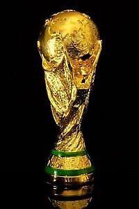 France coupe du monde trophée plaquer or
