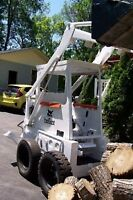 Bobcat with operator 65$ an hour
