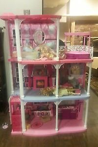 Barbie Mansion with accessories