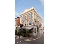 Bar Back - Busy Fulham pub - Immediate start - Full/ Part time