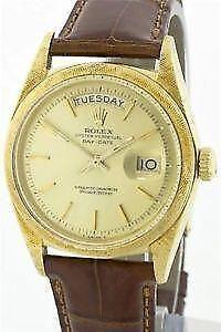 Rolex Day Date Platinum Ebay