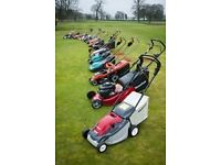 We would love to buy your old ride on mowers.