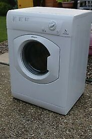 21 Hotpoint TVM570 7kg White Vented Tumble Dryer 1 YEAR GUARANTEE FREE DELIVERY