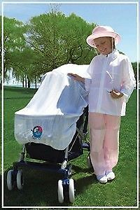 Sunscreen protection without the chemicals! UV pram popper London Ontario image 1
