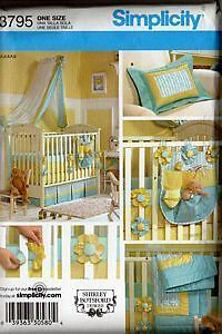 Stylish Baby Nursery: Crib Bumpers in Two Cool Fabs | Sew4Home