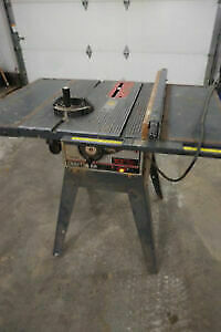 Craftsman shaper and shop Table saw