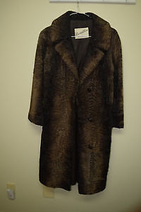 Remarkable Full Length Lambs Wool Coat by Speiser Furs