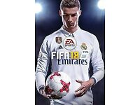 Fifa 18 wanted on code Xbox