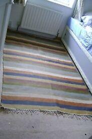Large Striped Rug