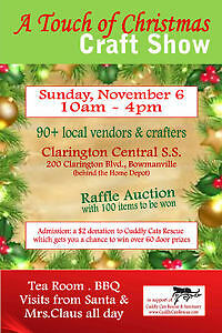 VENDORS WANTED FOR POPULAR BOWMANVILLE CHRISTMAS CRAFT SHOW