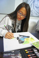 NEW! Thursday's Art classes for your little enthusiasts 9-14y
